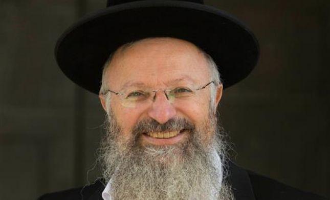 ברגע האחרון: הרב שמואל אליהו מתמודד לרבנות בירושלים