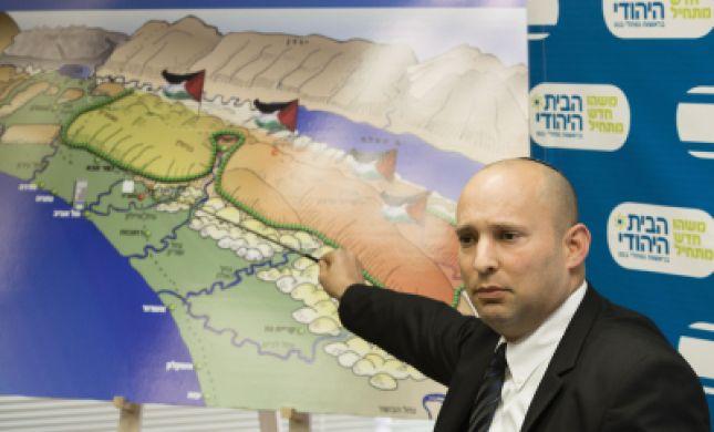 """בנט: """"מי שאומר אם אשכח ירושלים לא יכול לשכוח לבנות ב-E1"""""""