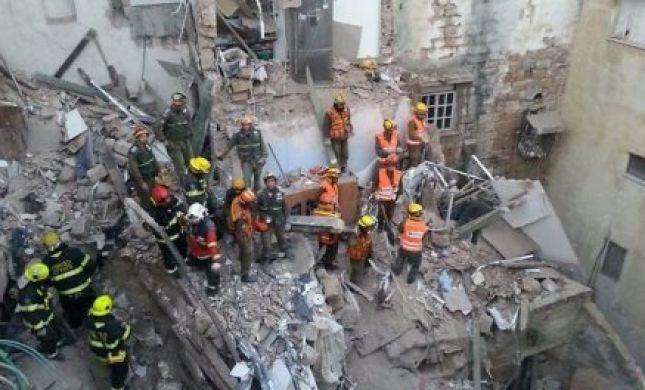 בלון גז התפוצץ בעכו: ארבעה נהרגו, שלושה נלכדו