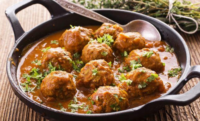 מלא בריאות, מלא טעם: מתכון לקציצות הודו ברוטב עגבניות