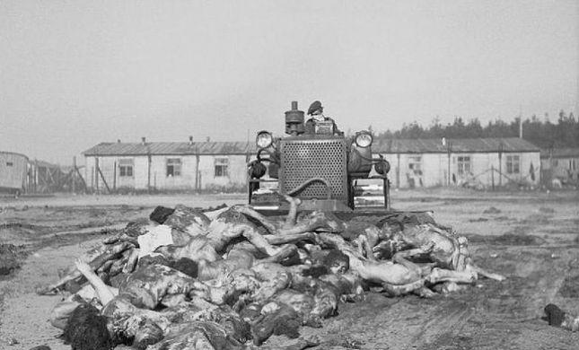 תמונות הזוועה משחרור מחנה ברגן בלזן