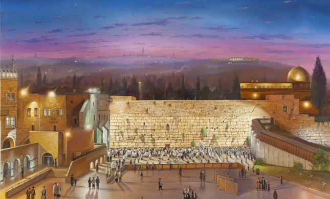 האמן היהודי שהעלים את 'אל אקצא'