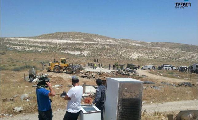 הסתיים ההרס במעלה רחבעם: 8 מבנים נהרסו; 5 עצורים