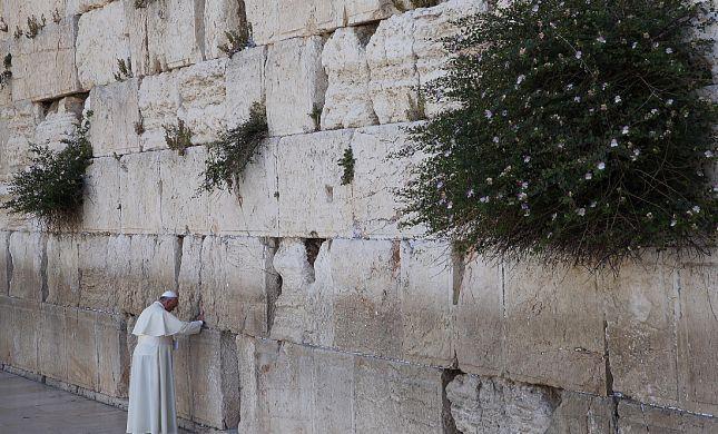 רב הכותל לאפיפיור: הילחם באנטישמיות