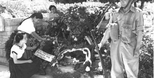 צפו: הלוויות הראשונות בבית הקברות הצבאי בהר הרצל 1949