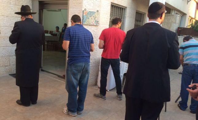 בבית משפחות החטופים: כאב קורע לב