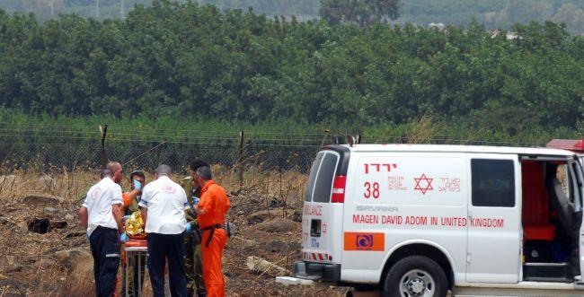 פיצוץ ברמת הגולן: הרוג ופצוע קשה