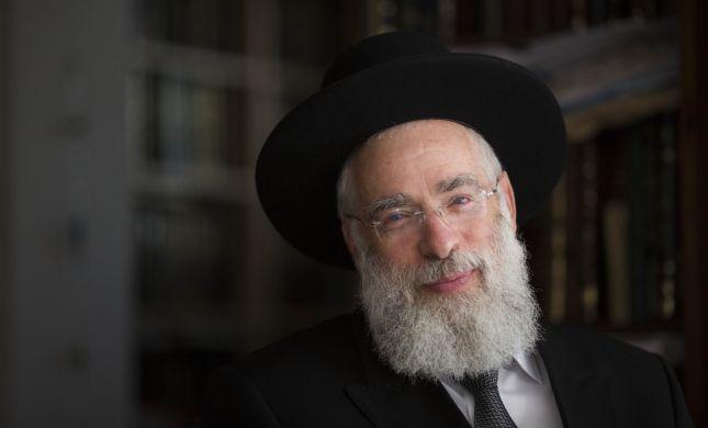 הרב יעקב שפירא הגיש מועמדות לרבנות ירושלים