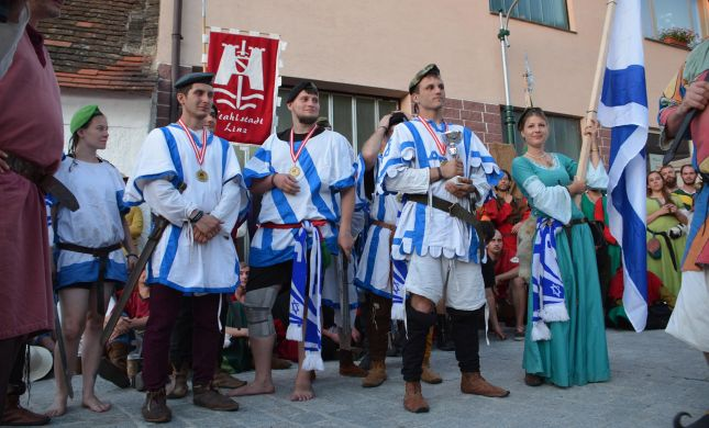 נבחרת ישראל זכתה במקום הראשון בקרבות אבירים