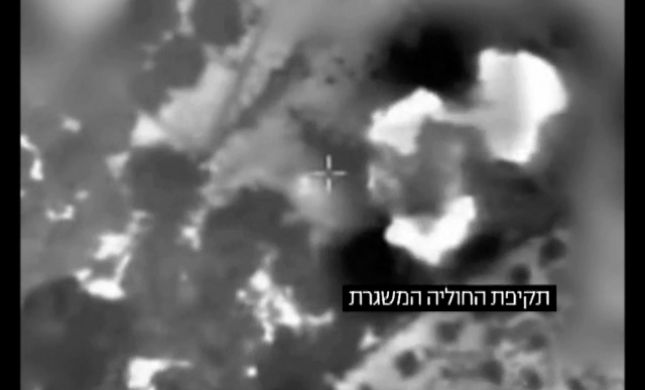 צפו: חיסול חוליית מחבלים בזמן שיגור רקטות