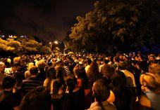 """20,000 איש באו לחלוק כבוד לסמ""""ר שון כרמלי"""