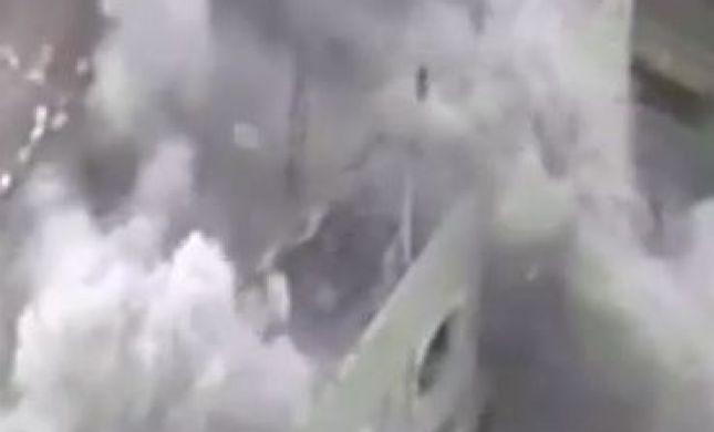 צפו: פגיעה בבניינים מהם ירו על כוחותינו