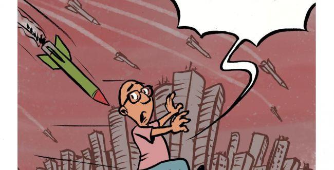 קריקטורה: למה הם גרים בתל אביב?