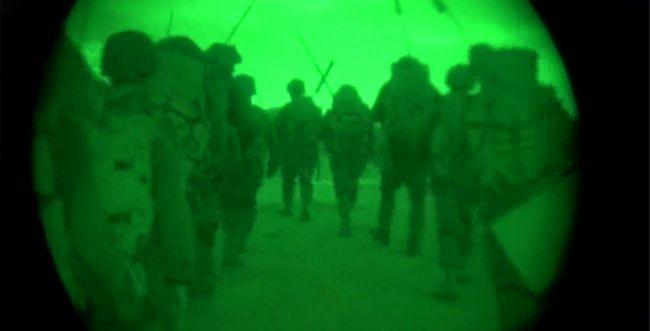 """צפו: חיילי צה""""ל פועלים ברצועת עזה"""