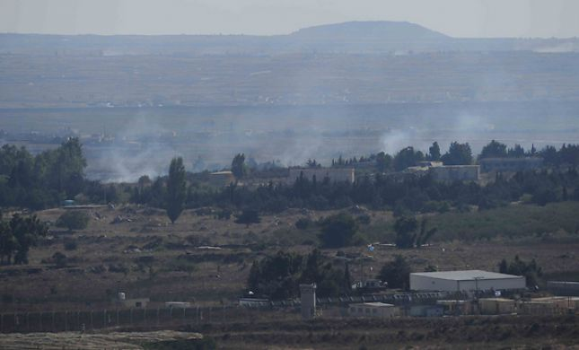 מלחמה בסוריה: חייל נפצע בינוני ברמת הגולן