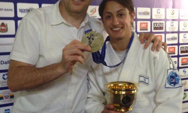 ירדן ג'רבי זכתה במדליית הכסף באליפות העולם