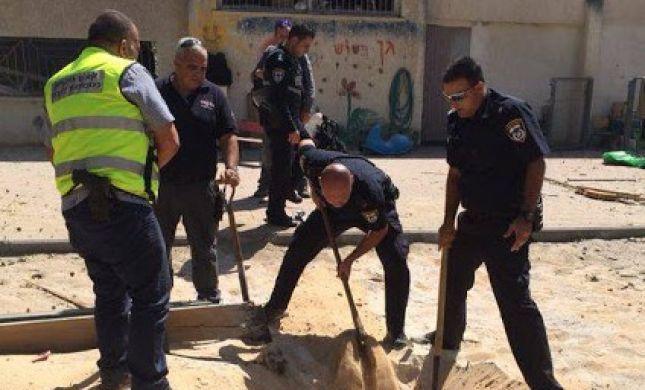 פגיעה ישירה בחצר גן ילדים באשדוד; אין נפגעים