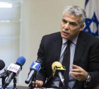 """חדשות, חדשות פוליטי מדיני לפיד מאיים על ראשי חמאס: """"לא נעצור"""""""