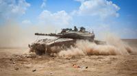 חדשות, חדשות צבא ובטחון, מבזקים בתגובה לרקטה ששוגרה לישראל; טנק תקף בעזה
