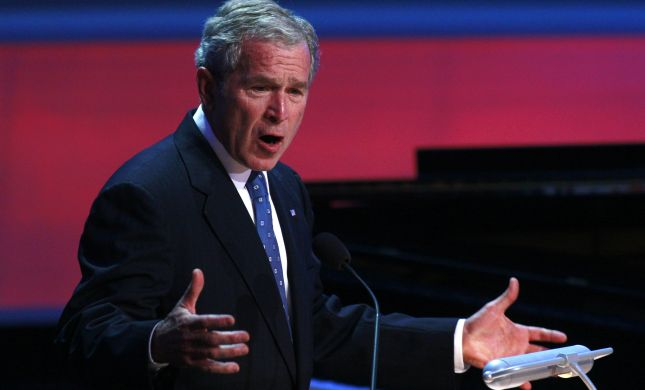 """""""הנבואה"""" של ג'ורג' בוש על דאעש"""