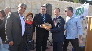 חדשות, חדשות בארץ צפו: שר התחבורה הופתע עם עוגת יום-הולדת