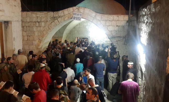 למרות האיסור: תלמידים נכנסו לקבר יוסף בשכם