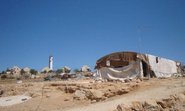 הר חברון: נהרס המאחז הבדואי ליד כרמל