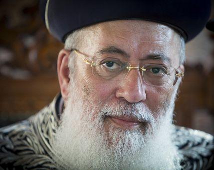 """חדשות המגזר, חדשות קורה עכשיו במגזר """"הרב עמאר צריך להיבחר לרבה של ירושלים"""""""