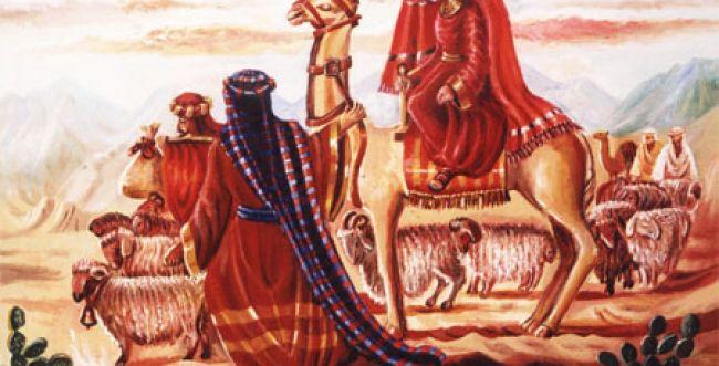 """ציורי תנ""""ך: פרשת לך –לך מעשה אבות סימן לבנים"""