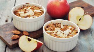 אוכלים, מתכוני פרווה מתכון חגיגי: קראמבל תפוחים פריך ועסיסי