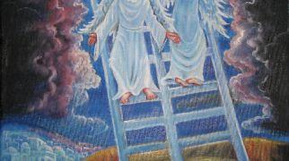 """בשבילך ציורי תנ""""ך: פרשת ויצא המסר של סולם יעקב"""