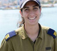 חדשות, חדשות צבא ובטחון לראשונה: קצינה תמונה למפקדת ספינה בחיל הים