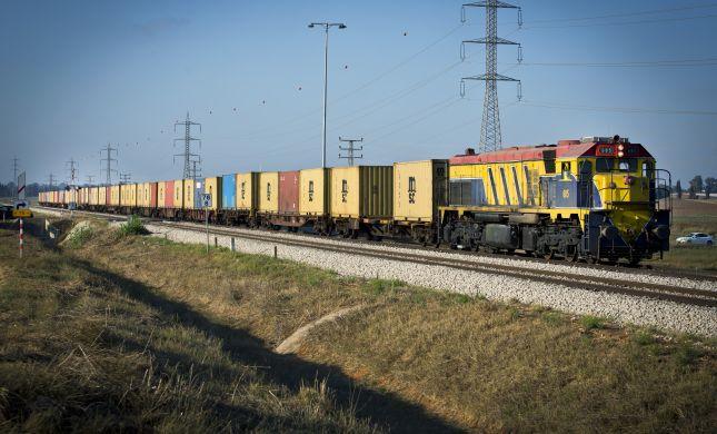 שוב מתמגנים: רכבת משא תגן על הרכבת לשדרות