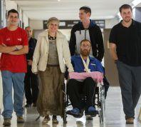 חדשות המגזר, חדשות קורה עכשיו במגזר הולך הביתה: יהודה גליק השתחרר מבית החולים