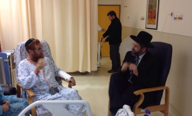 יהודה גליק משתחרר היום מבית החולים