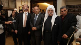 חדשות חרדים הדרוזים באו לניחום אבלים בבית הכנסת בהר נוף