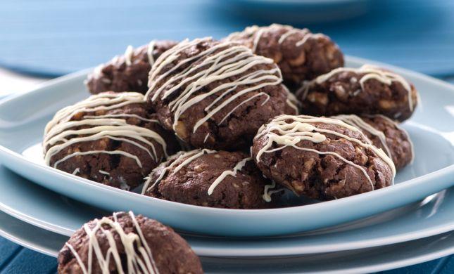 ללא אפייה: מתכון לעוגיות שוקולד מנצחות