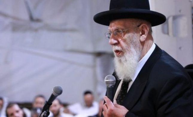 הרב שלום כהן: איסור חמור להימצא בסביבת ההפגנות