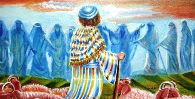 """ציורי תנ""""ך פרשת וישב: השגחה מישיבה של מעלה"""