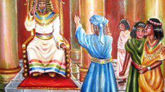 """בשבילך ציורי תנ""""ך פרשת מקץ: פלאי פלאים-קשר לנס חנוכה-כיצד?"""