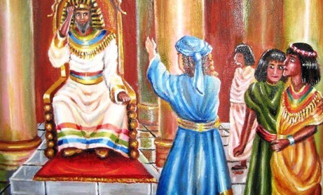 """ציורי תנ""""ך פרשת מקץ: פלאי פלאים-קשר לנס חנוכה-כיצד?"""