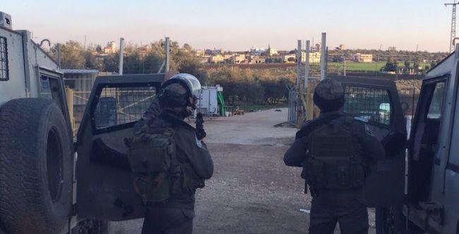 בתוך שבועיים: פלסטיני שנשא מטען נעצר בשומרון