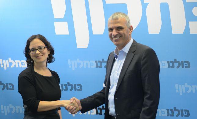 רחל עזריה מ'ירושלמים' הצטרפה לכחלון