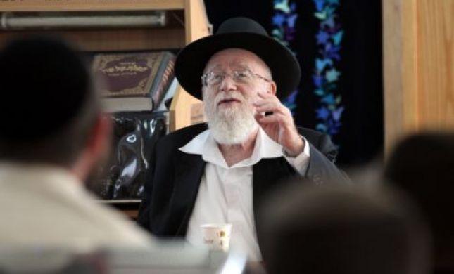 """הרב דב ליאור תוקף: """"זו לא דרכה של תורה"""""""