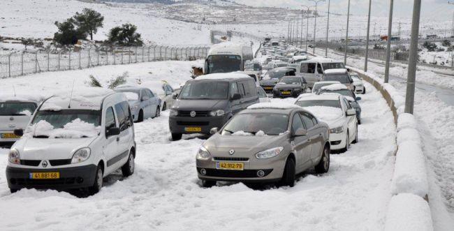מתכוננים לסערה: ביום רביעי שלג בירושלים