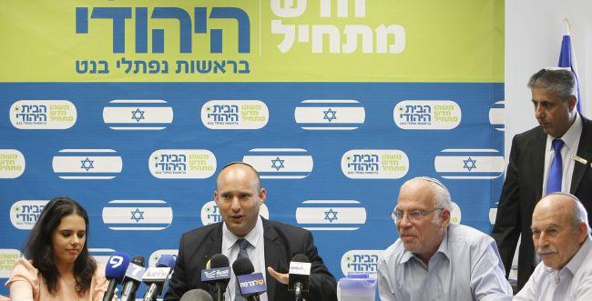 הרבנים והאיחוד הלאומי - נגד, הבית היהודי - בעד