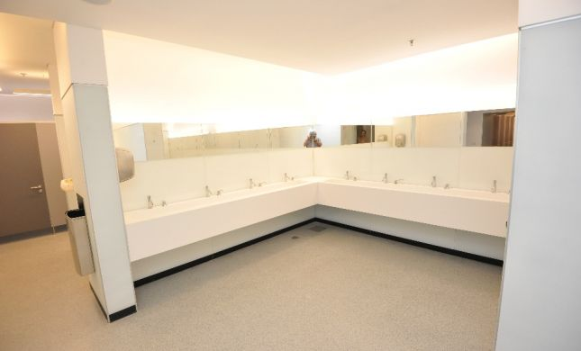 חדרי שירותים חדשים ברחבת הכותל המערבי