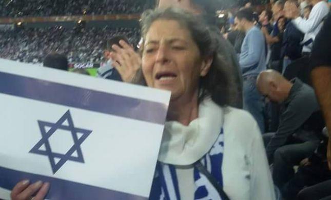 """אמה של מירב מיכאלי: """"מתרגשת מההמנון"""""""