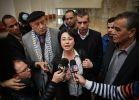 בחירות 2015, חדשות, חדשות פוליטי מדיני חנין זועבי הותקפה ברמת גן; פעיל שפך עליה מיץ