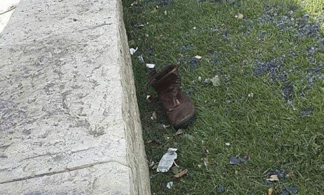 """חפצים אישיים של שלום שרקי הי""""ד נשארו בזירת פיגוע הדריסה"""
